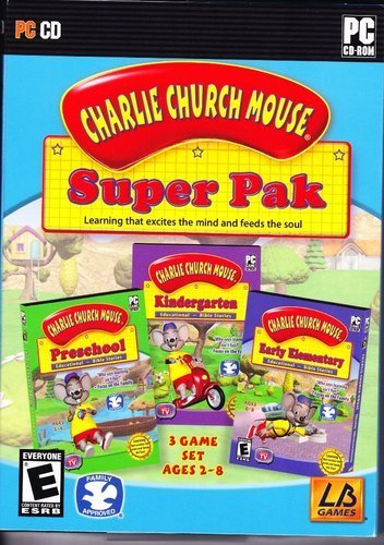 Charlie Church Mouse Bible Adventures! SuperPak